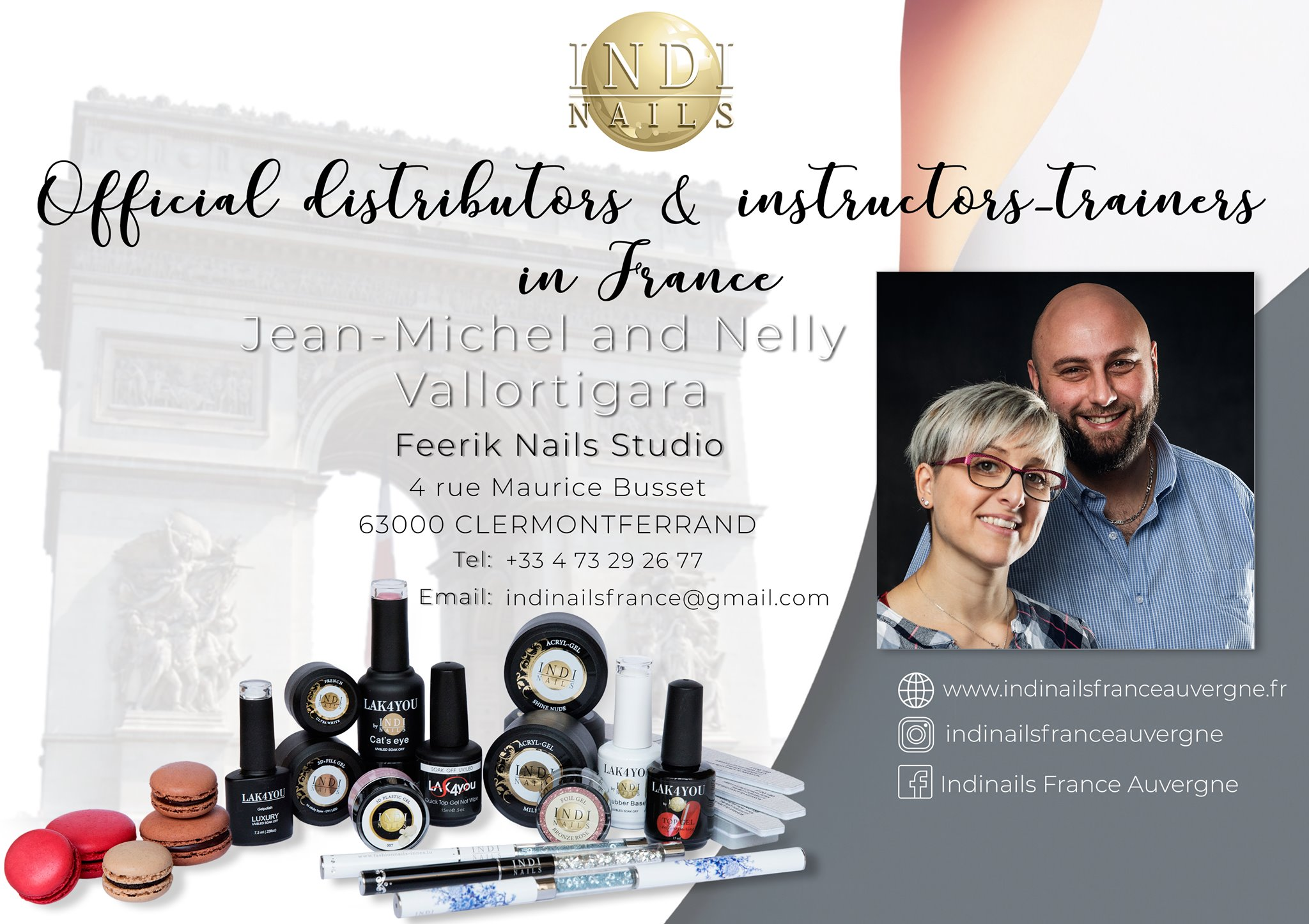 formateur & distributeur indi nails france